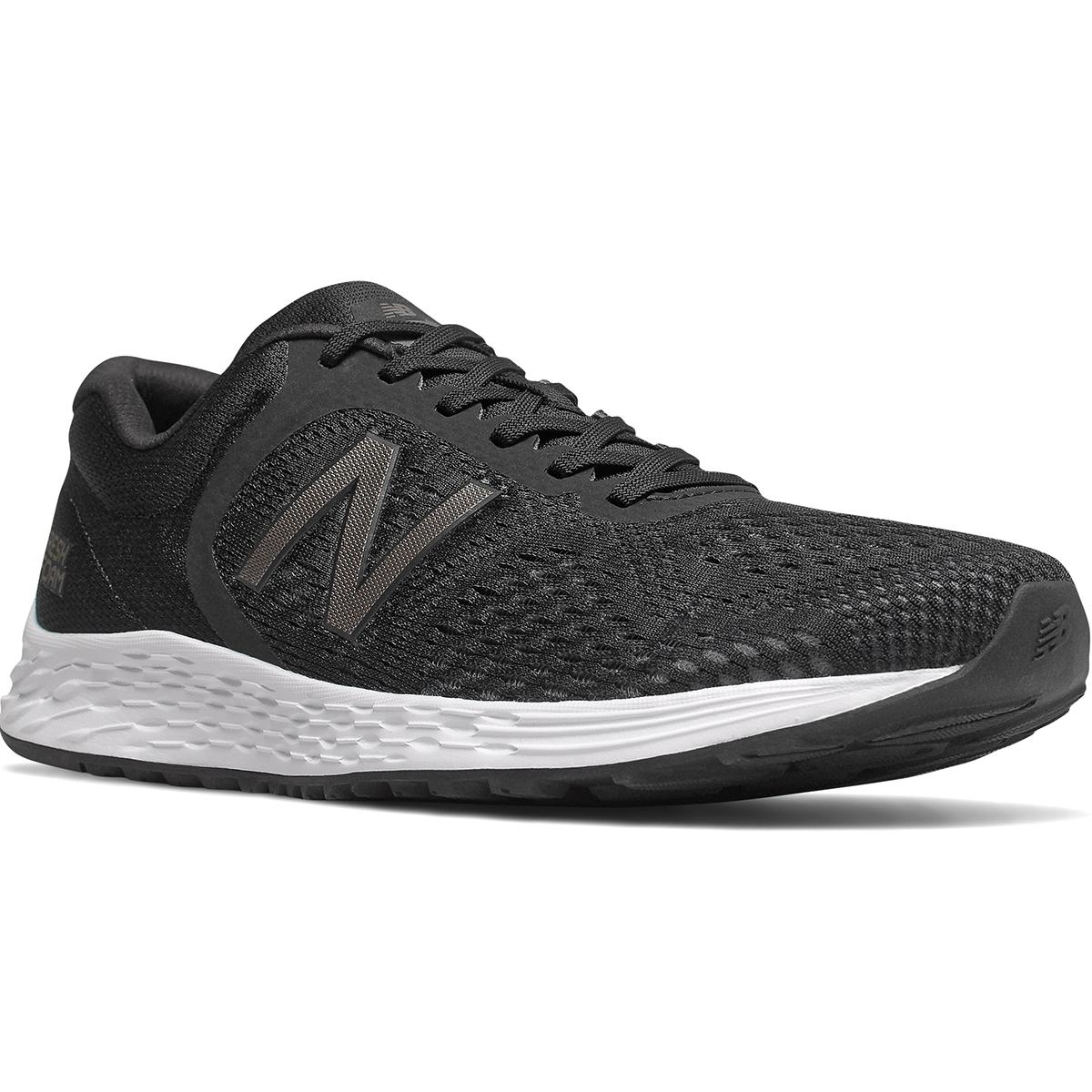 New Balance Men's Fresh Foam Arishi V2 Sneaker, Wide Width - Black, 7.5