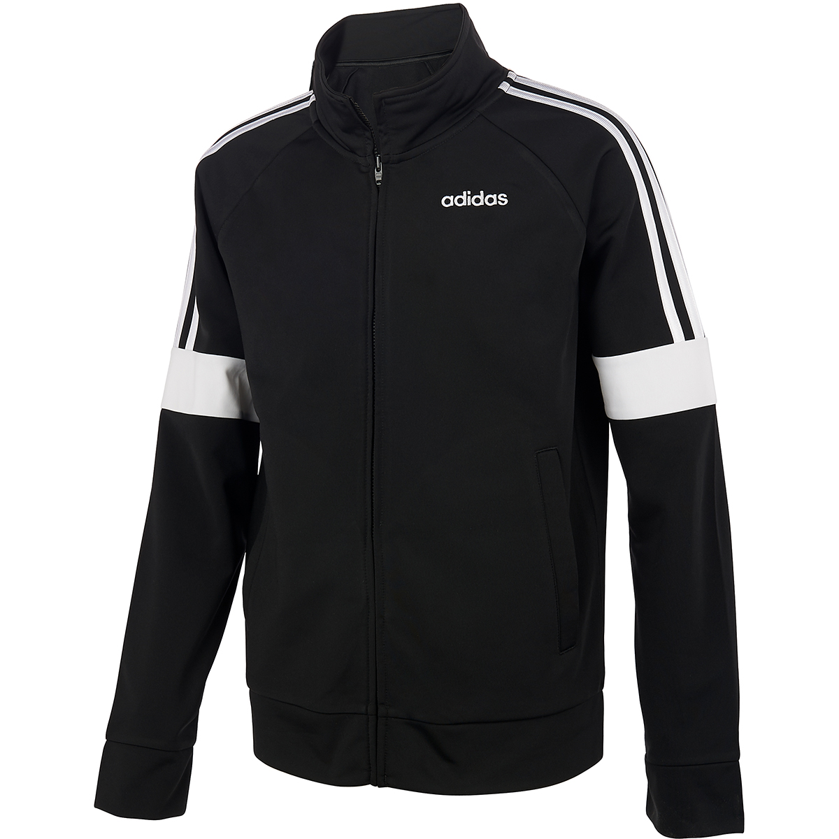 Adidas Boys' 8-20 Event Jacket - Black, XL