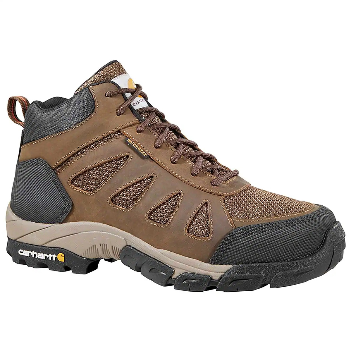 Carhartt Men's Lightweight Waterproof Hiking Work Boot - Brown, 9