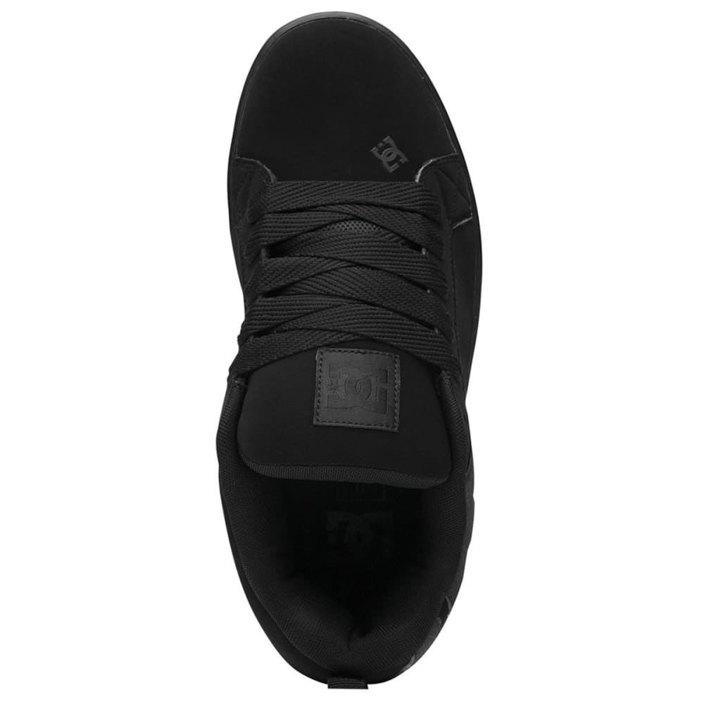 DC Men's Court Graffik Sneaker - BLACK