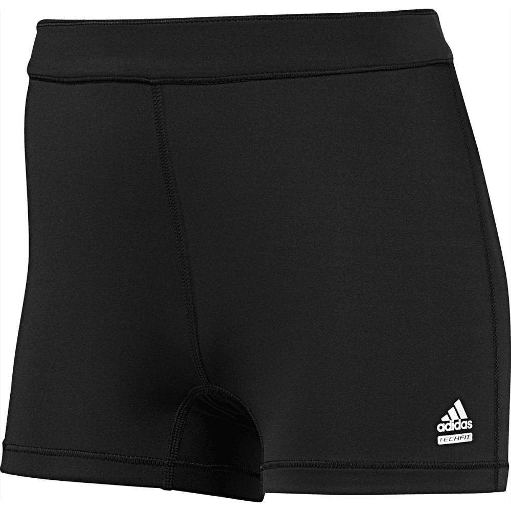 "ADIDAS Women's Techfit 3"" Boy Shorts - BLACK/BLK-D88844"