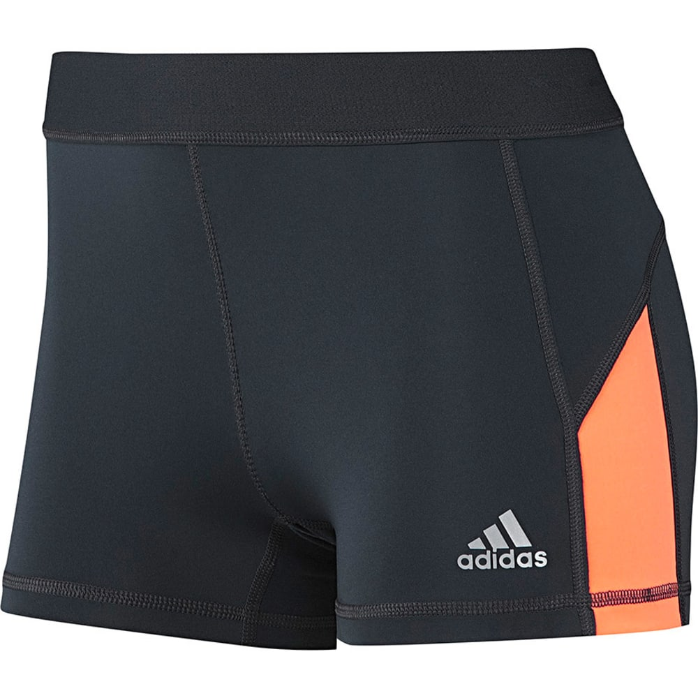 "ADIDAS Women's Techfit 3"" Boy Shorts - GRAY"