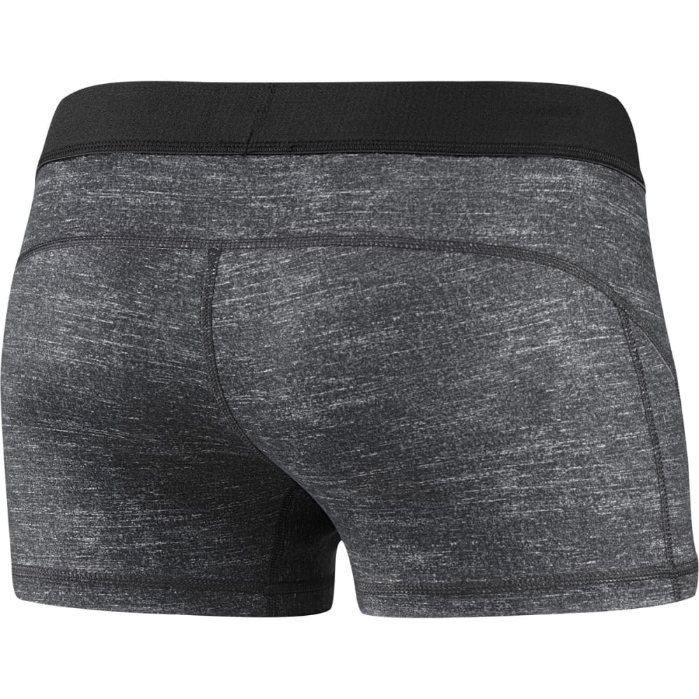 "ADIDAS Women's Techfit 3"" Boy Shorts - GRAY D88845"