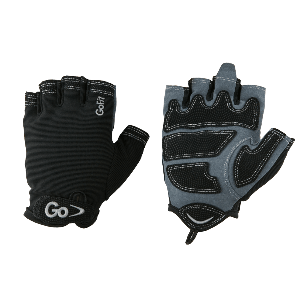 GoFit Men's X-Trainer Glove - BLACK