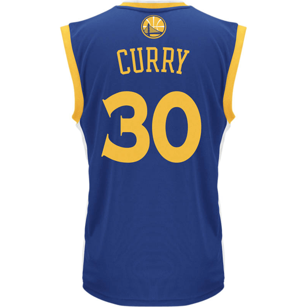 adidas Youth Warriors Curry Road Jersey - BLUE