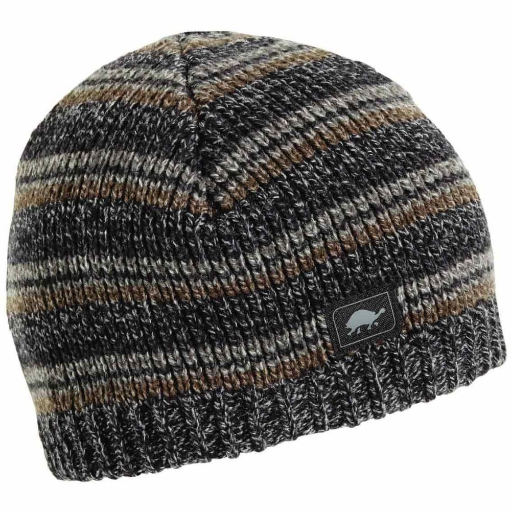 TURTLE FUR Men's Schroeder Ragg Wool Beanie - CHARCOAL - 429