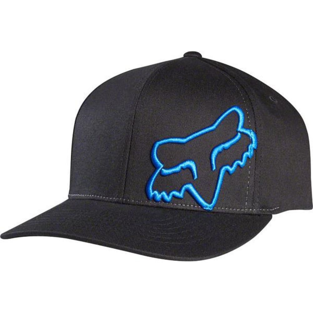 FOX Men's Flex 45 Hat - BLACK/BLUE-013