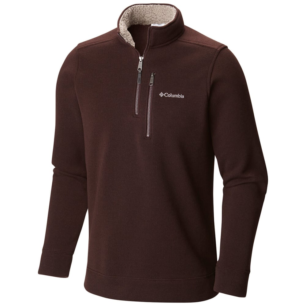 Columbia Men's Terpin Point II Half Zip - NEW CINDER-203