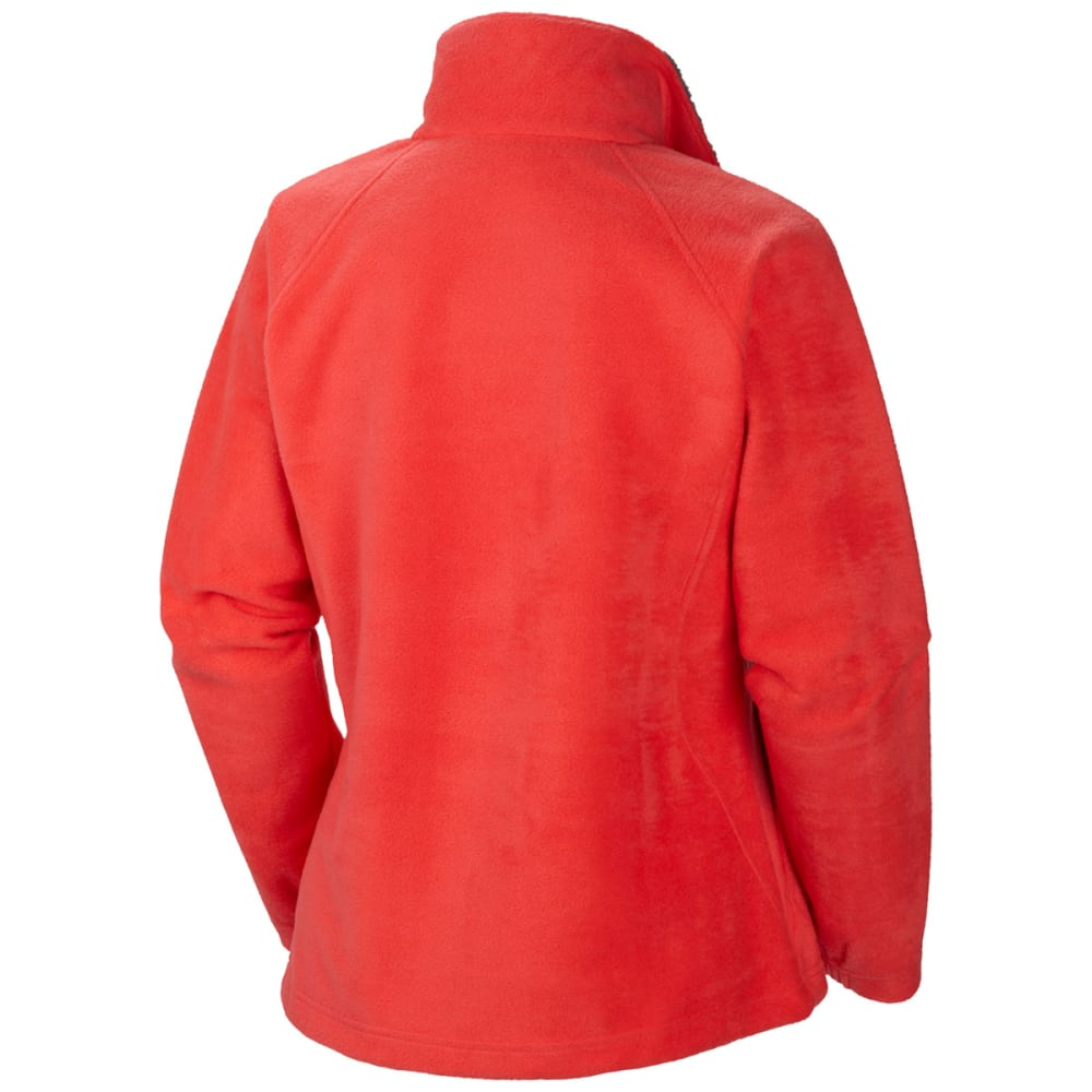 Columbia Women's Dotswarm II Full Zip Fleece Red - RED