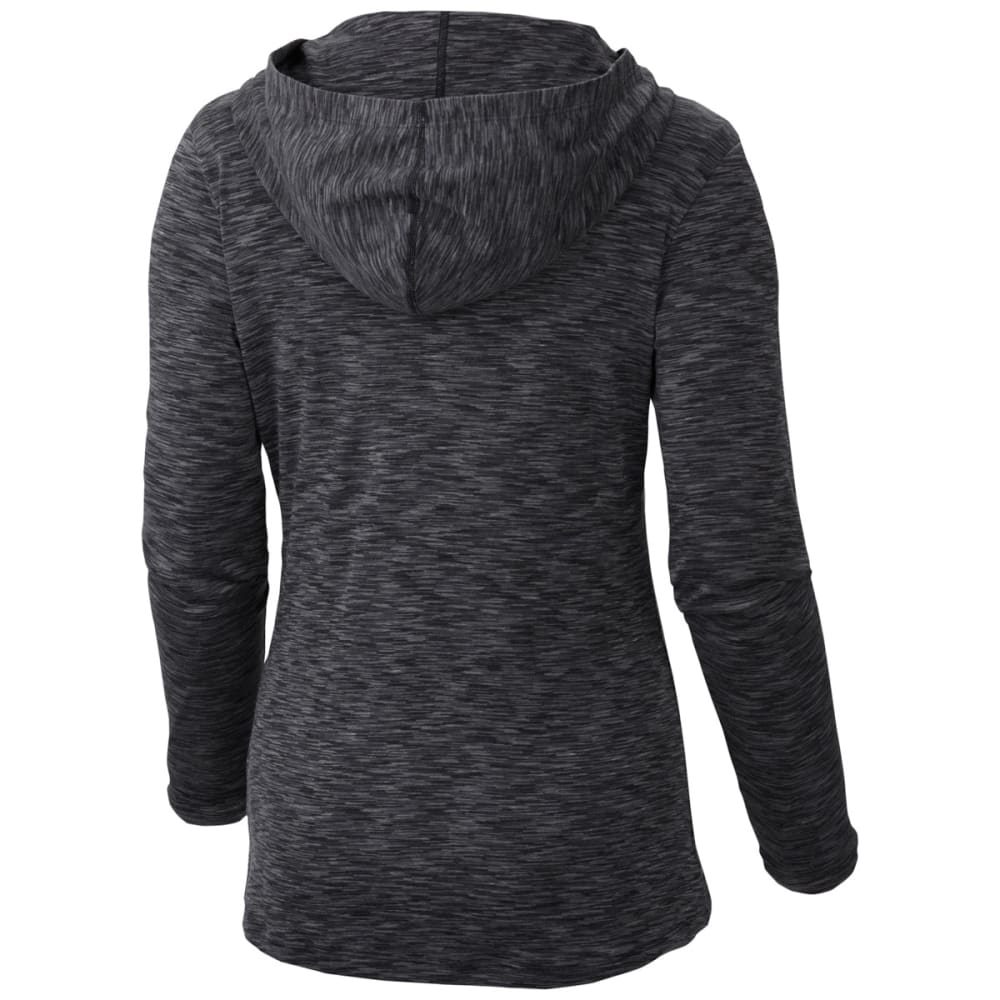 COLUMBIA Women's Outerspaced Hoodie - 011- BLACK