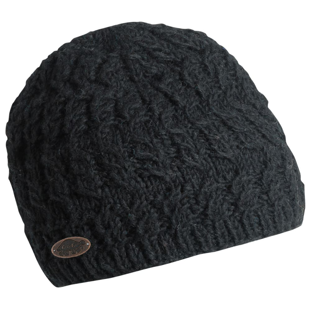 TURTLE FUR Women's Mika Beanie - BLACK - 101