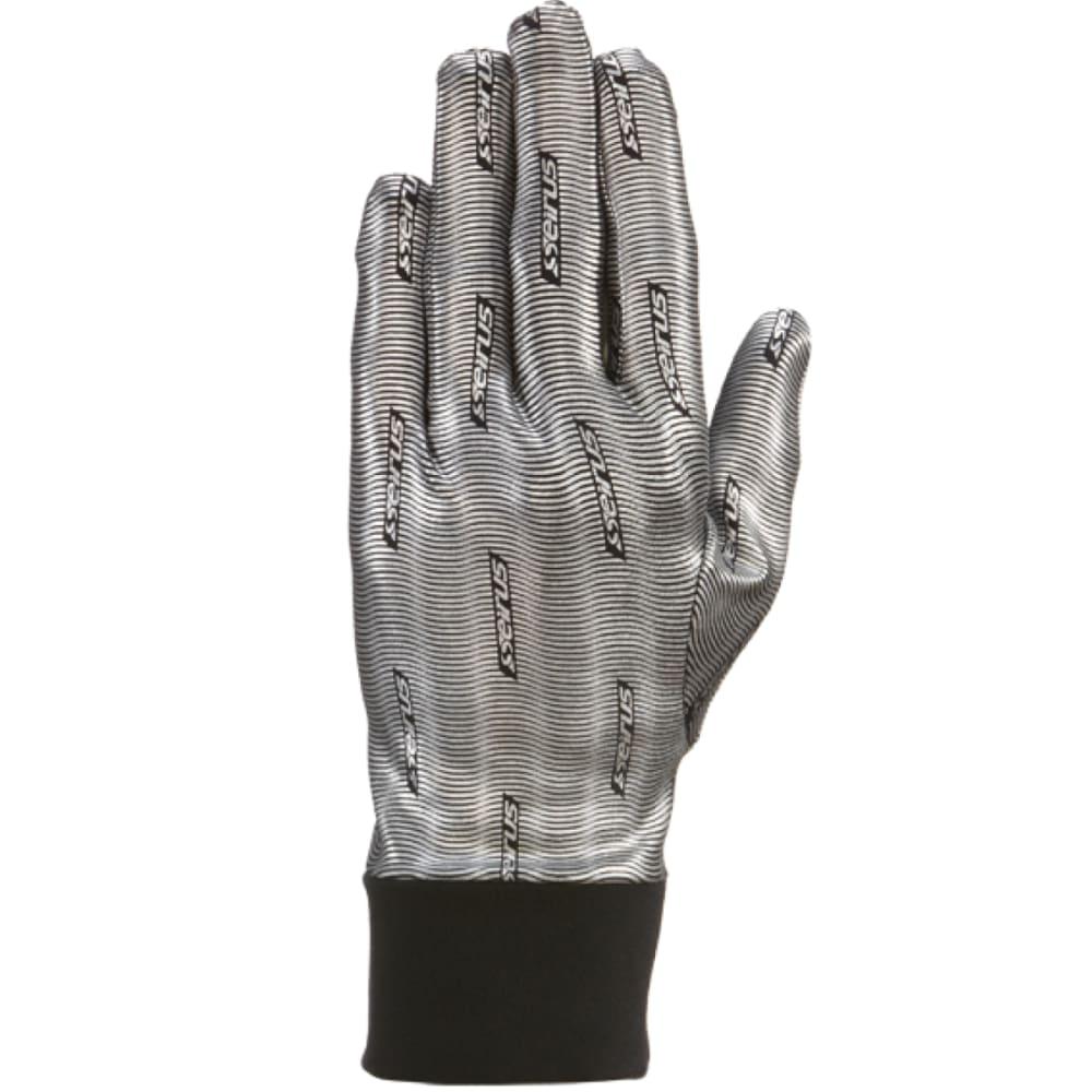 SEIRUS Men's Heatwave Liner Gloves - SILVER