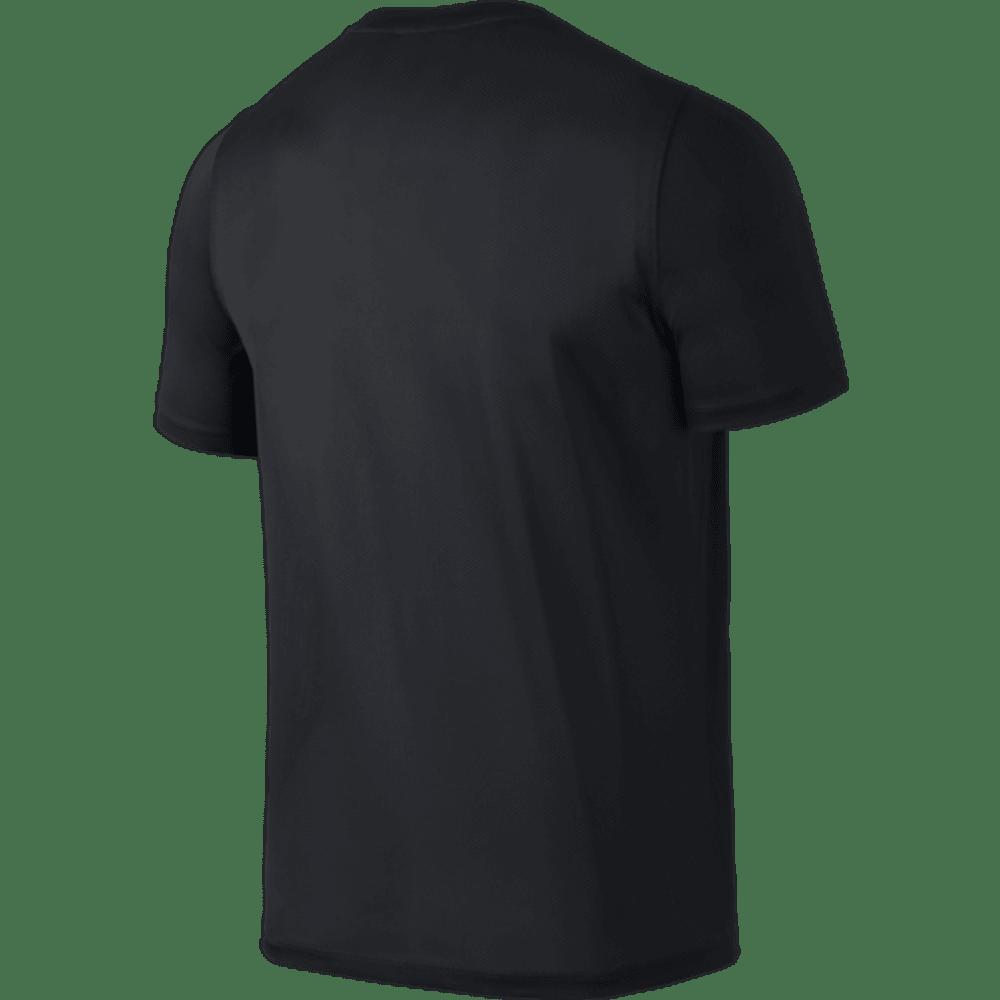 NIKE Men's Academy Training Short Sleeve Top - BLACK/WHITE-012