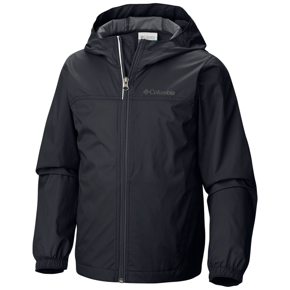 Columbia Boys Glennaker Waterproof Jacket - Black, S