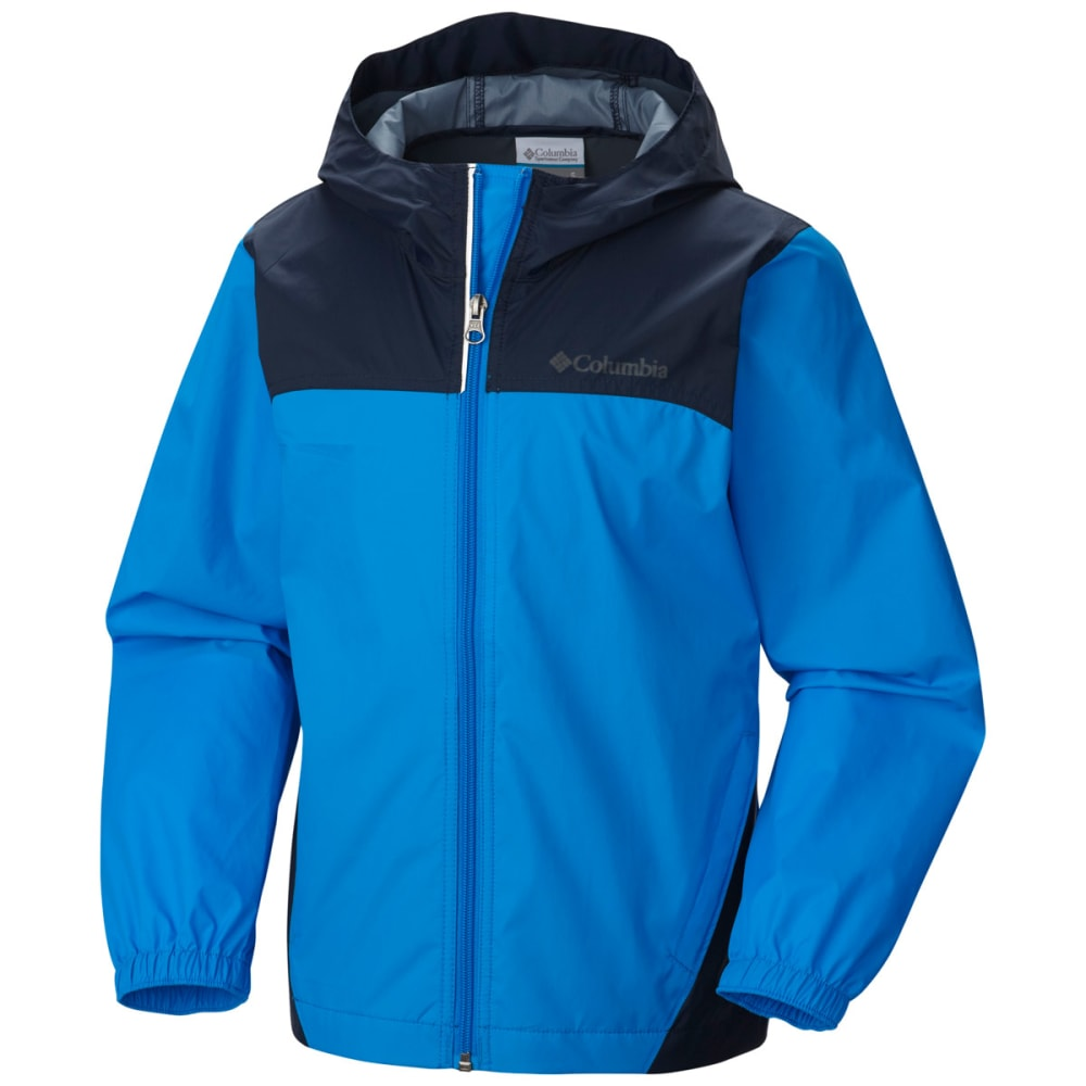 Columbia Boys Glennaker Waterproof Jacket - HYPER BLUE/NVY-431