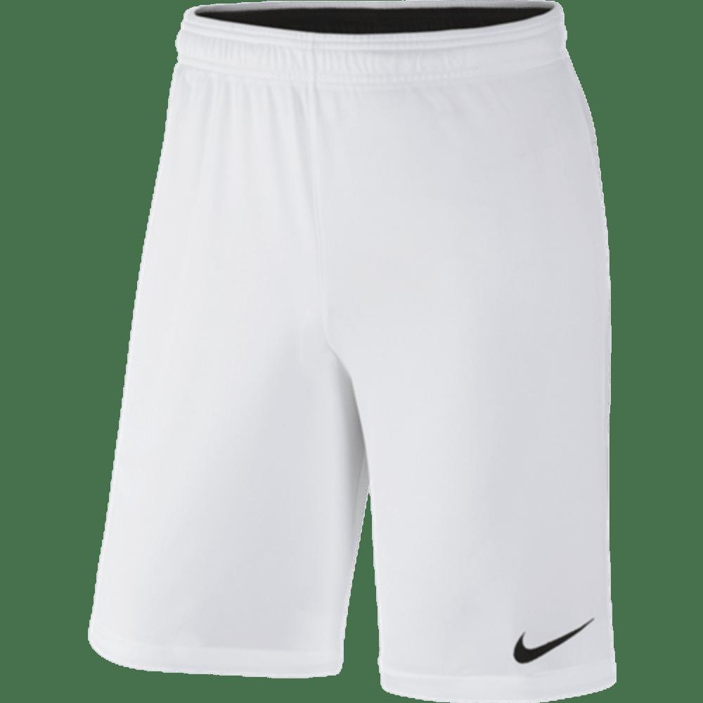 NIKE Mens' Academy 2 Knit Shorts - WHITE/BLACK-100