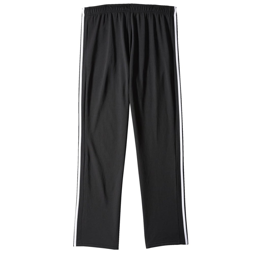 Adidas Mens Essential Track Pant - BLACK/WHITE-S11261