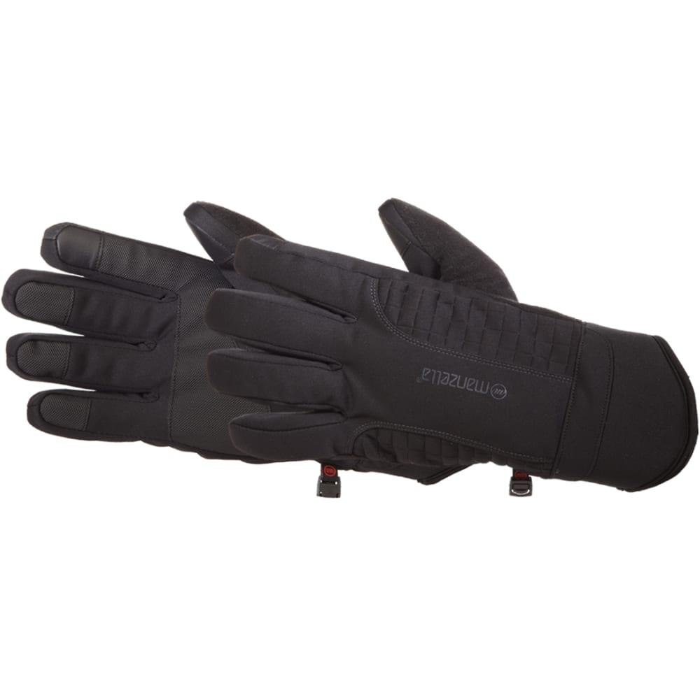 MANZELLA Men's Get Intense Touch Tip Gloves - BLACK