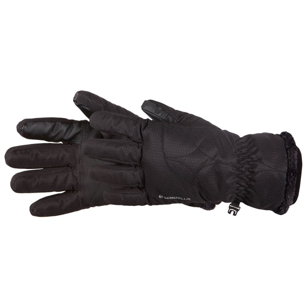 MANZELLA Women's Morgan Gloves - BLACK