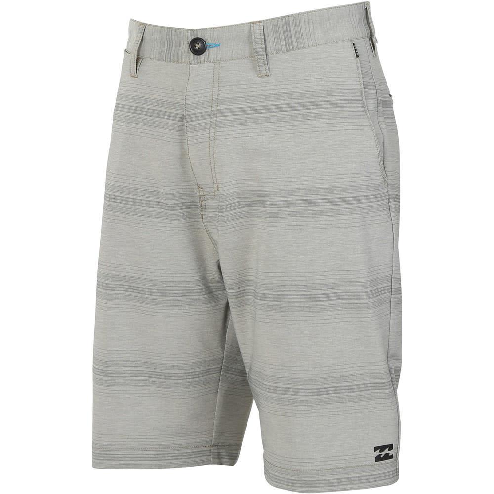 Billabong Men's Crossfire X Stripe Short - GRAVEL