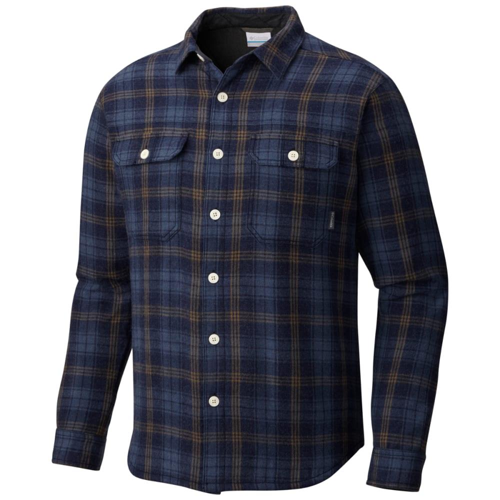 COLUMBIA Men's Windward III Over-Shirt - COLLEGIATE NVY-465