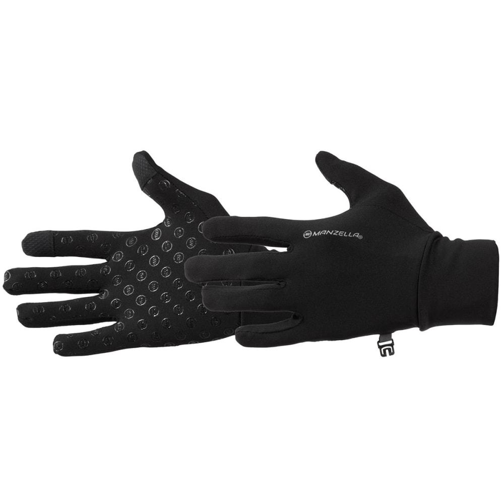 MANZELLA Women's Sprint TouchTip Outdoor Gloves - BLACK