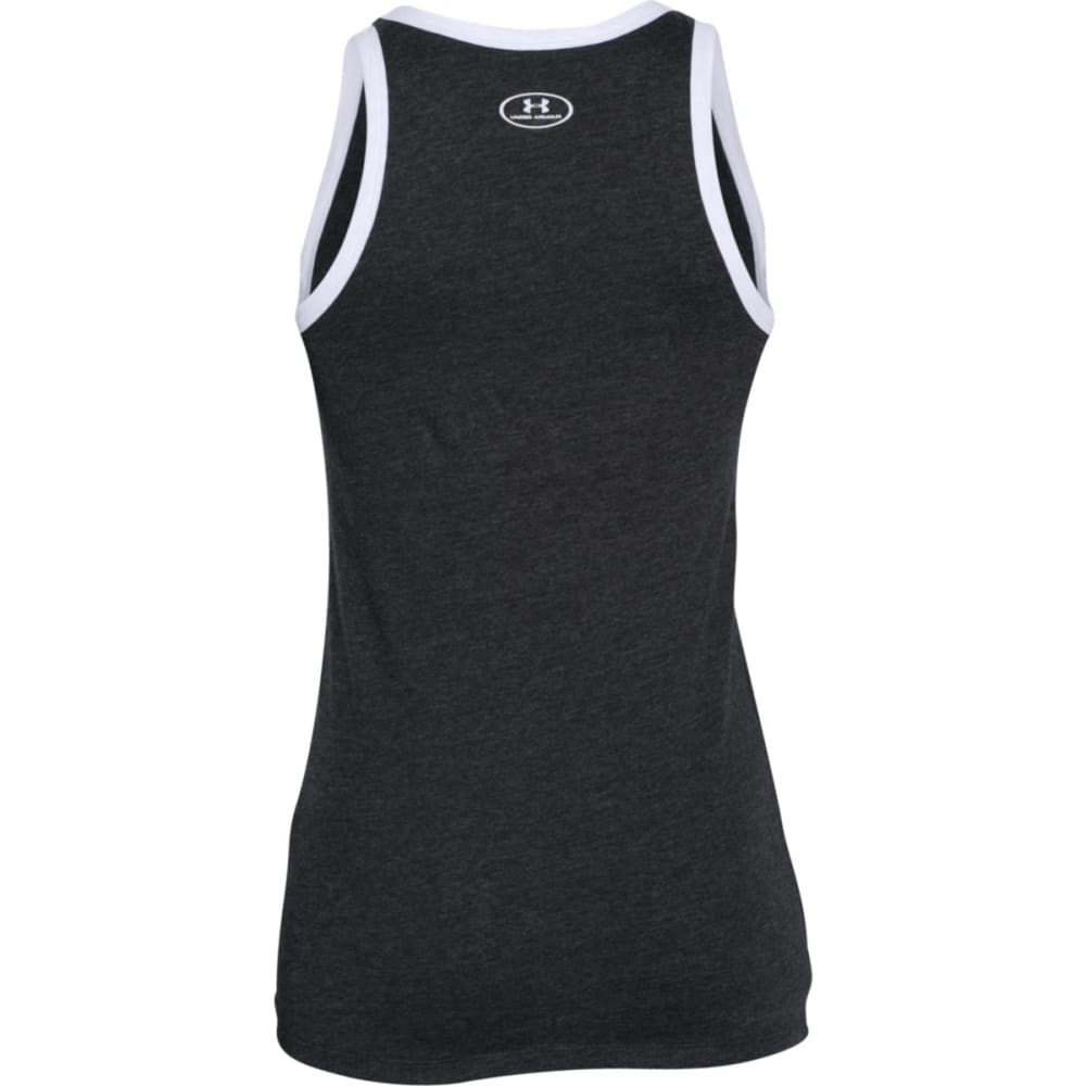 UNDER ARMOUR Women's Favorite Graphic Tank - BLACK-001