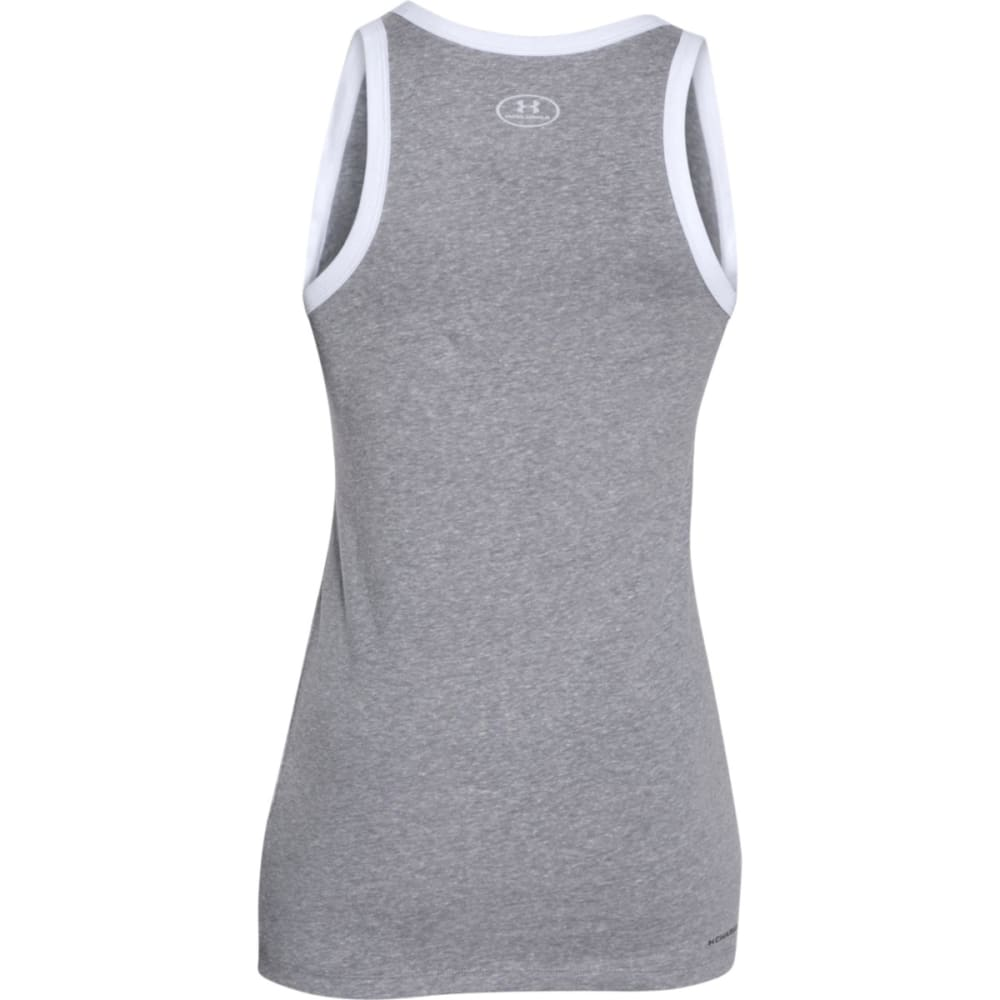 UNDER ARMOUR Women's Favorite Graphic Tank - GRAY