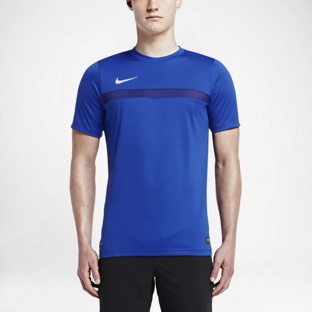 NIKE Men's Academy 3 Short Sleeve Training Top - GAME ROYAL/WHITE-480