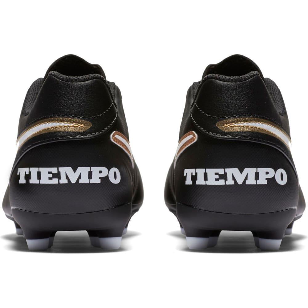 NIKE Men's Tiempo Rio III FG Soccer Cleats - BLACK