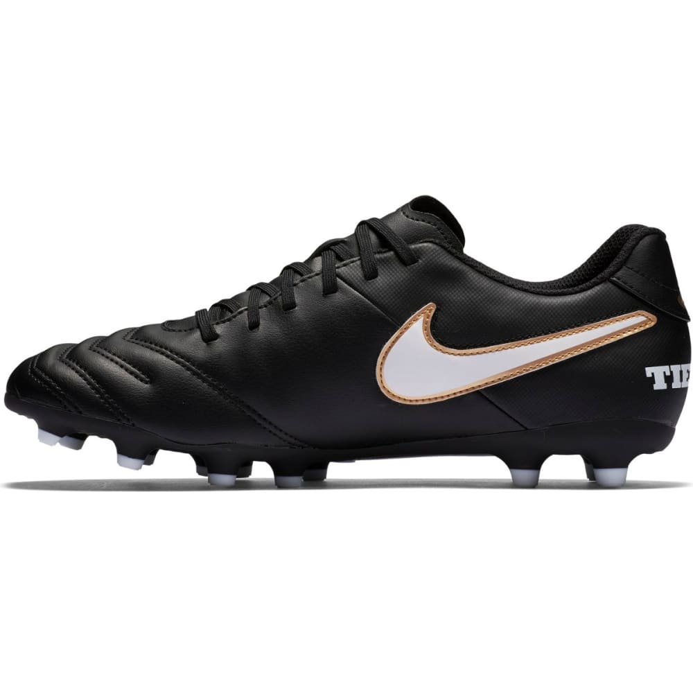 NIKE Men's Tiempo Rio III FG Soccer Cleats - BLACK