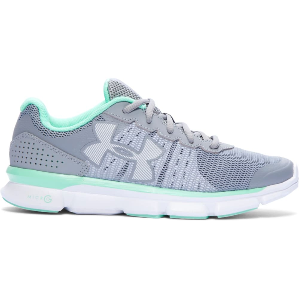 UNDER ARMOUR Women's Micro G Speed Swift Running Shoes - STEEL