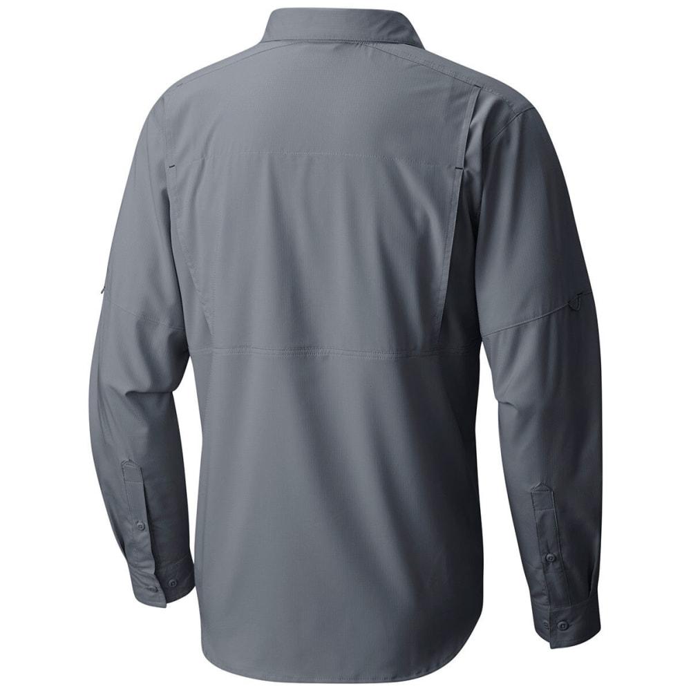 COLUMBIA Men's Silver Ridge Lite Long-Sleeve Trail Shirt - 021-GREY ASH