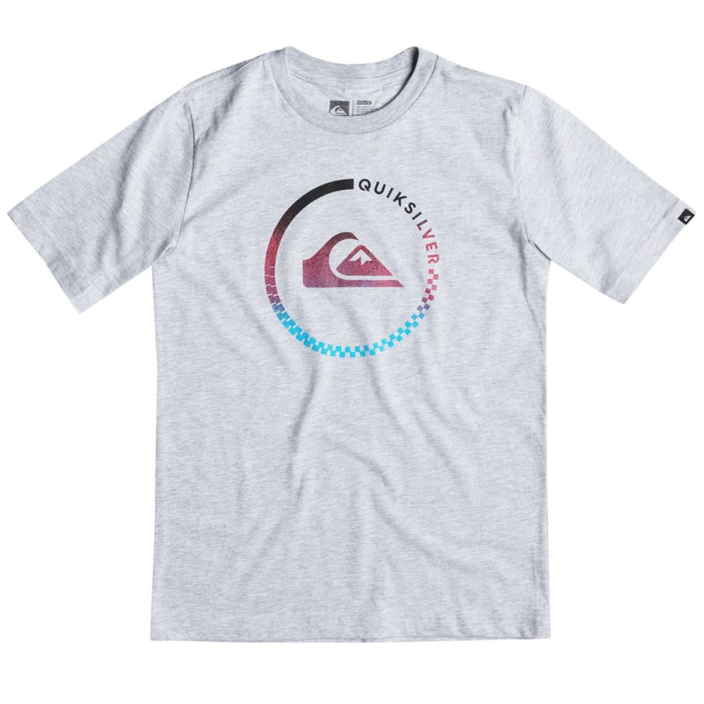 QUIKSILVER Boys' Active Blend Tee - GRAY