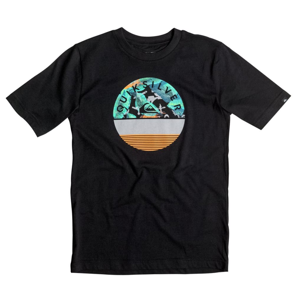 QUIKSILVER Boys' Extinguished Tee - BLACK