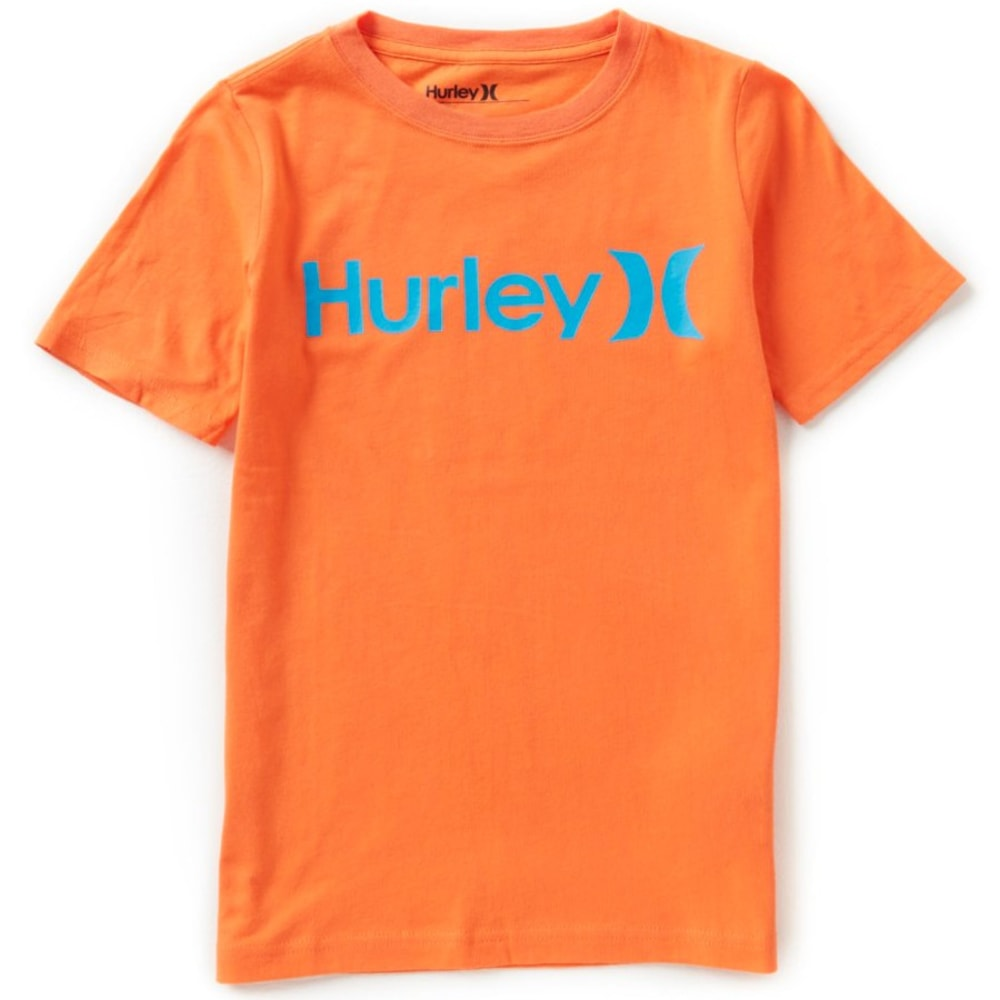 Hurley Boys One And Only Tee - Orange, S