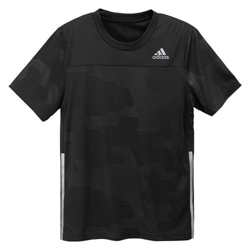 ADIDAS Boys' Spring Embossed Digi Camo Short-Sleeve Top - BLK BABANUP9