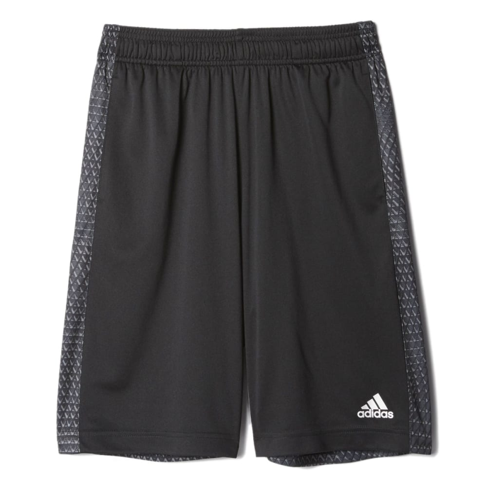 ADIDAS Boys' Tech Snake Training Shorts - BLACK