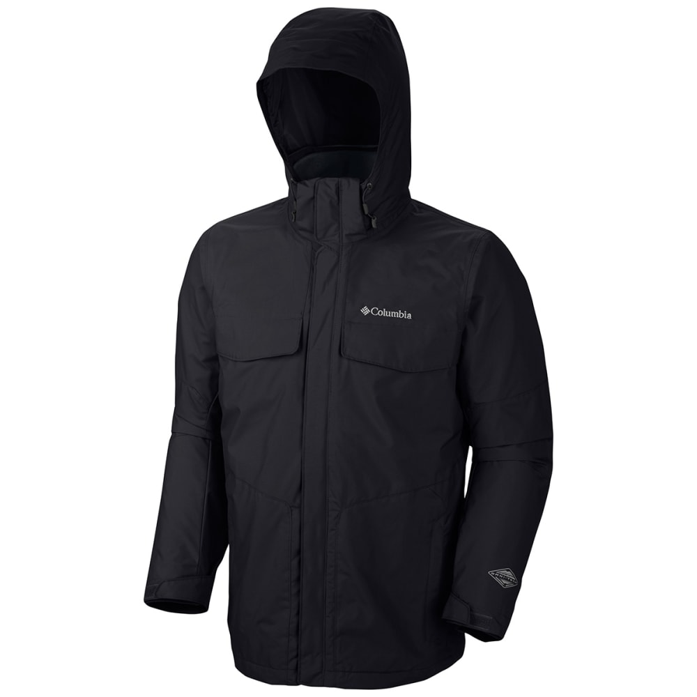 COLUMBIA Men's Bugaboo Interchange Jacket - BLACK-010