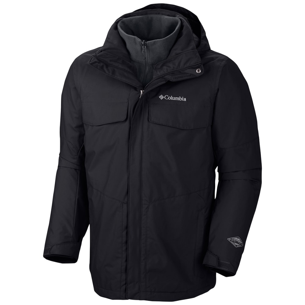 COLUMBIA Men's Bugaboo Interchange Jacket - BLACK-010