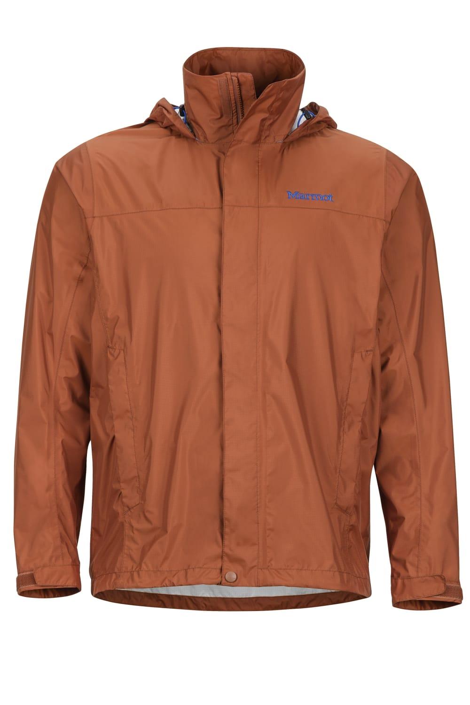 MARMOT Men's PreCip Jacket - 120-TERRACOTTA
