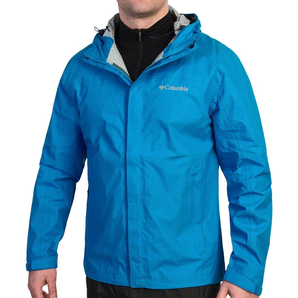 Dnu - Columbia Men's Tech Talk Exs Jacket - Blue, S