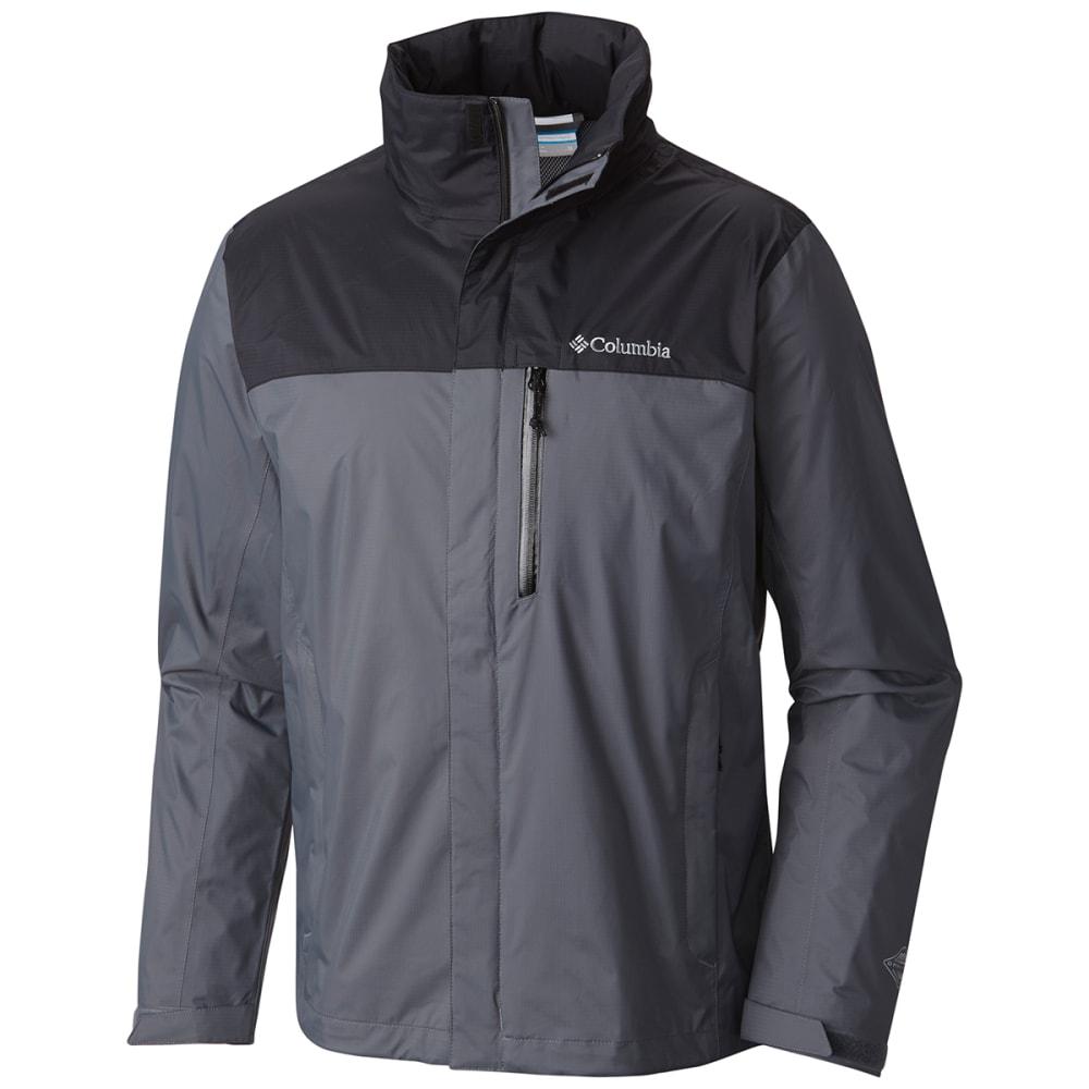 Columbia Men's Pouration Jacket - Black, S