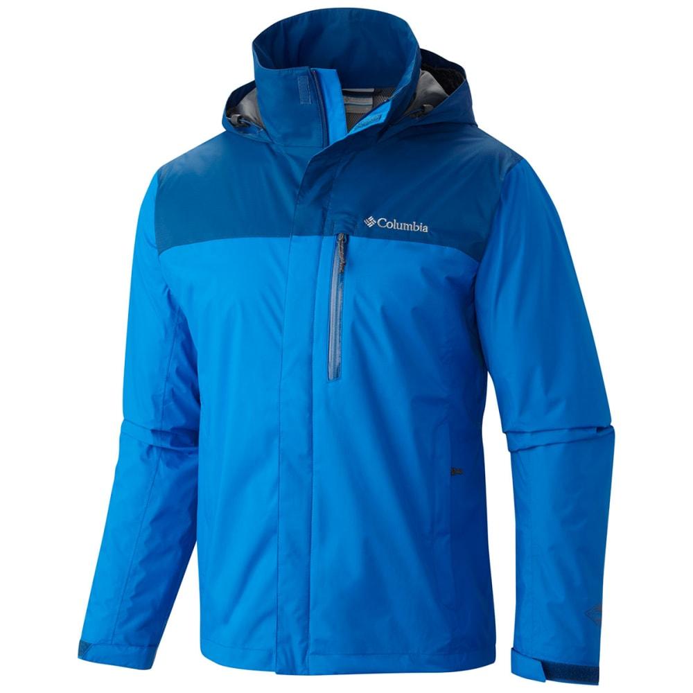 COLUMBIA Men's Pouration Jacket - 432-HYPER BLUE