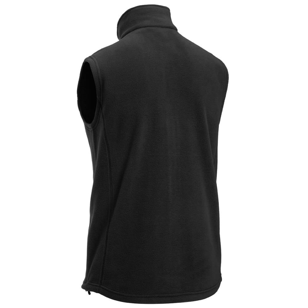 EMS® Men's Classic 200 Fleece Vest - JET BLACK