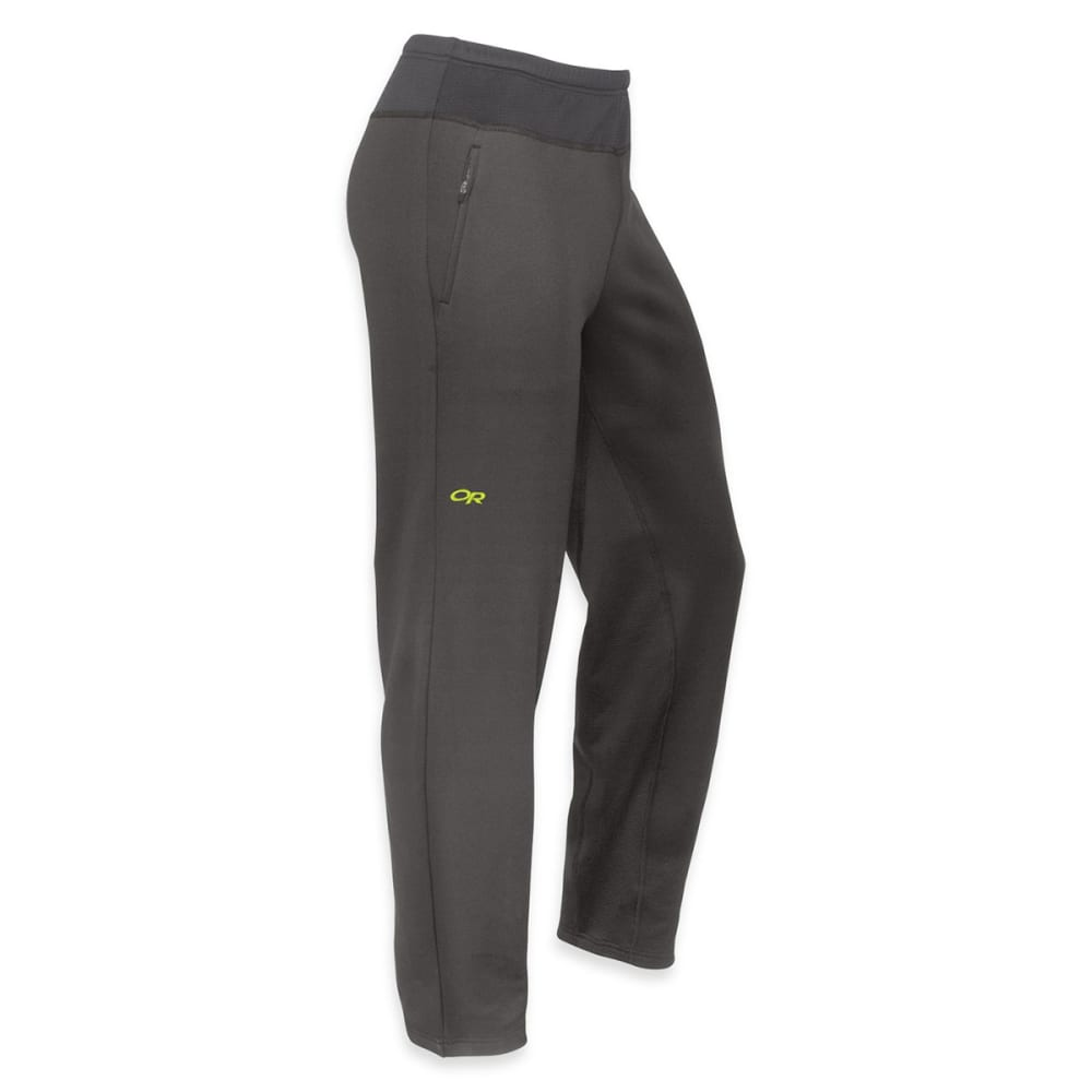 OUTDOOR RESEARCH Men's Radiant Hybrid Tights - CHARCOAL/ LEMONGRASS