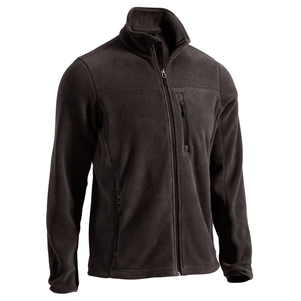 EMS Men's Classic 200 Fleece Jacket - JET BLACK