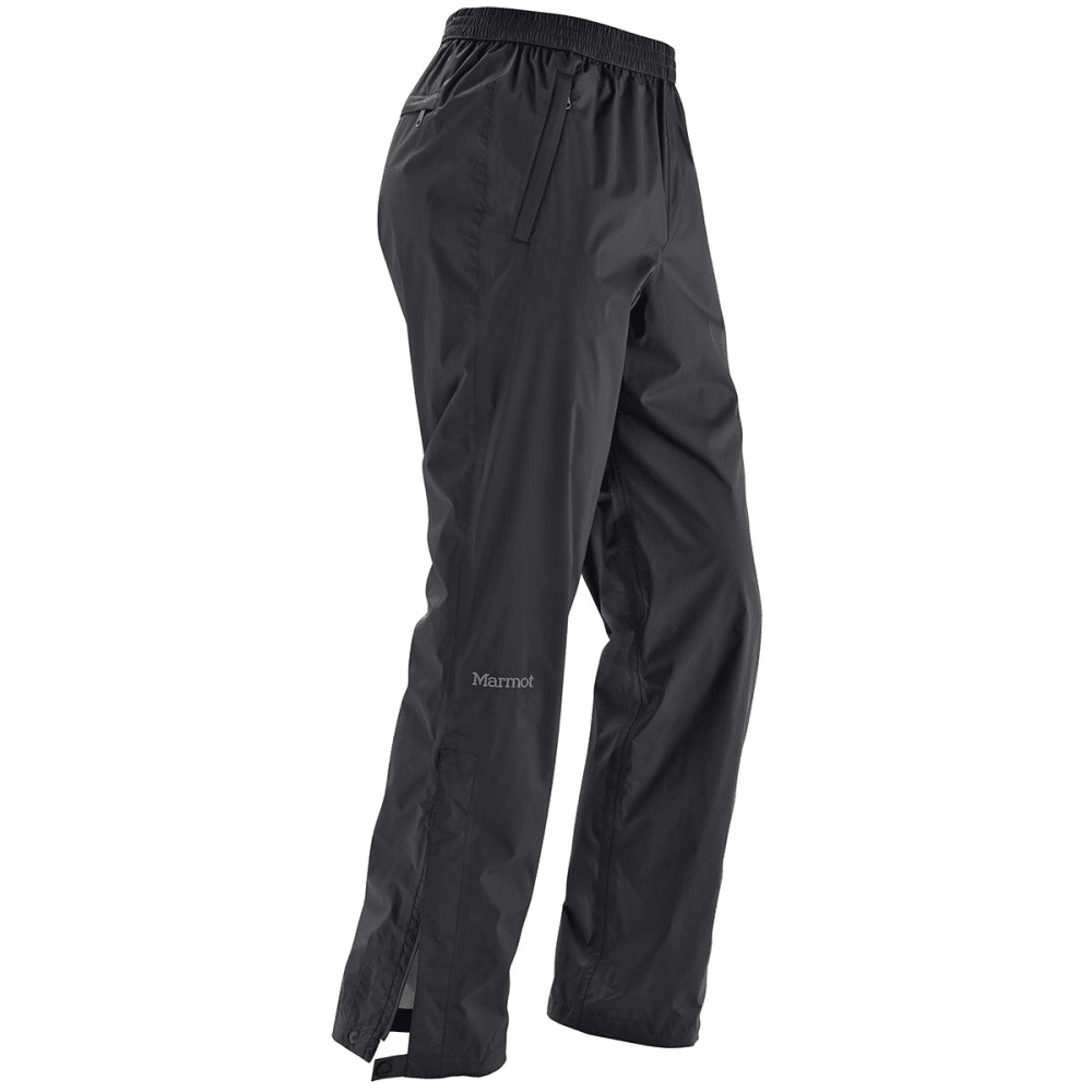 MARMOT Men's PreCip Pants, Short - 001-BLACK