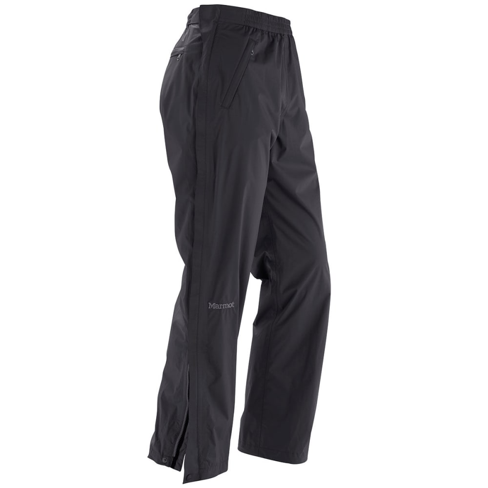 Marmot Men's Precip Full Zip Pants - Black, S