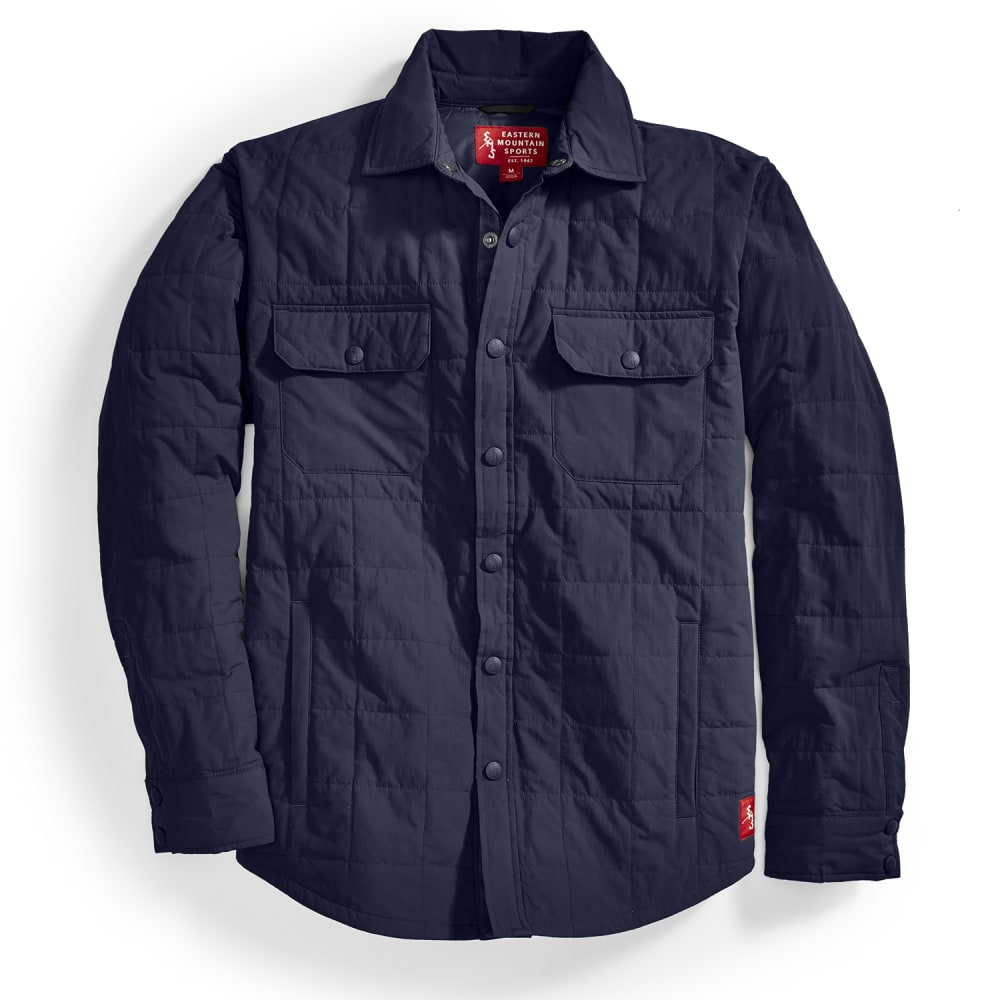 Ems(R) Men's Adirondack Quilted Shirt Jacket  - Blue, M